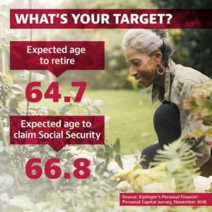 retirement age target