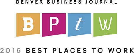 Denver Business Journal Best Places to Work 2016 2016 Badge